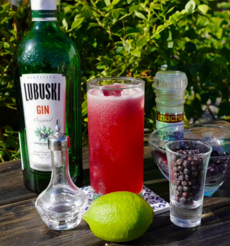 Blueniper cocktail
